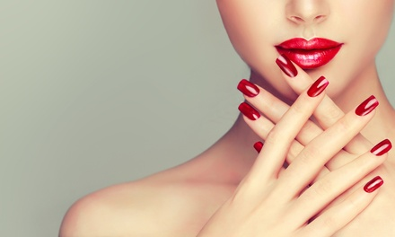 One or Two Mani-Pedi Combos or One Acrylic Manicure at Porto's Beauty Lab (Up to 45% Off)