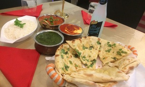 Curry Indian Restaurant: 3-Course Indian Meal: 2 ($39), 4 ($77), 6 ($115) or 8 People ($150) at Curry Indian Restaurant (Up to $275.88 Value)