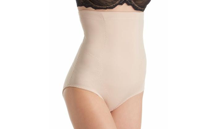 Heavenly Secrets Womens Shapewear Seamless Bodysuit