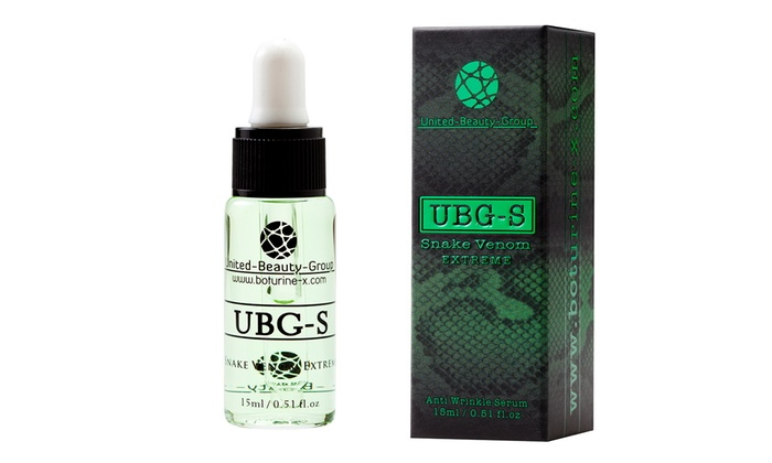 One, Two or Three UBG-S Snake Venom Extreme Treatments 15ml