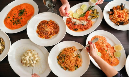 Italian Cuisine at Olivia Restaurant and Bar (Up to 45% Off). Two Options Available.