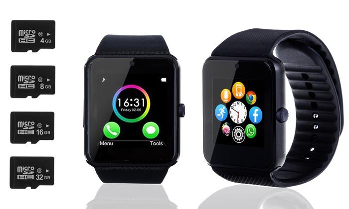 Groupon Goods Global GmbH: Smartwatch TEKKIWEAR multifunción con tarjeta MicroSD de 4, 8, 16 o 32 Gb desde 29,90 € (hasta 78% de descuento)
