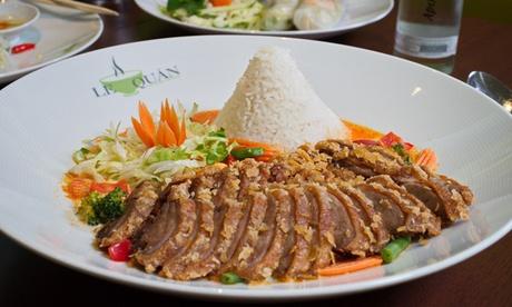 2- oder 3-Gänge-Menü vietnamesisches Streetfood à la carte für 2 Personen im Restaurant Le Quán (35% sparen*)
