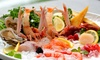 Astice e crudité di mare, menu gourmet