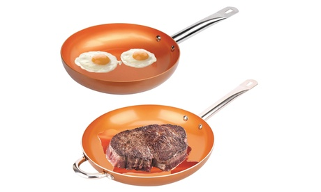 "Nonstick 12"" Copper Pan"