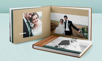 Up to 93% Off Custom 40-Page Perfect Bind Hardcover Photo Book