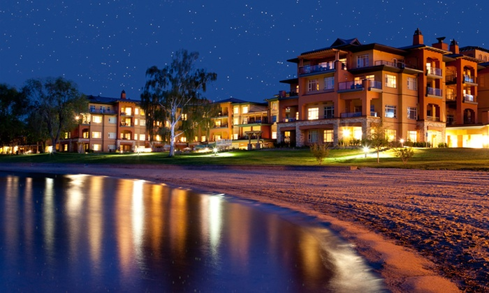 Watermark Beach Resort - Osoyoos, BC: Stay with Dining Credit at Watermark Beach Resort in Osoyoos, BC. Dates Available into March.