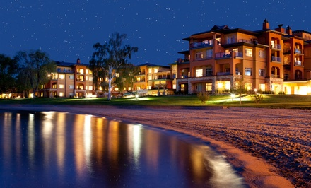 Stay with Dining Credit at Watermark Beach Resort in Osoyoos, BC. Dates Available into March.
