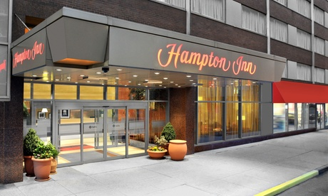 Stay at Hampton Inn Times Square North in New York, NY. Dates into May. 3b8f3c34-e5f7-45c6-92da-c4e95247605d