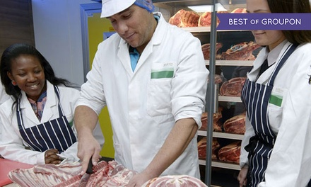 Three-Hour Butchery Course with Meal and Wine for One or Two at The Butchers Kitchen (Up to 48% Off)