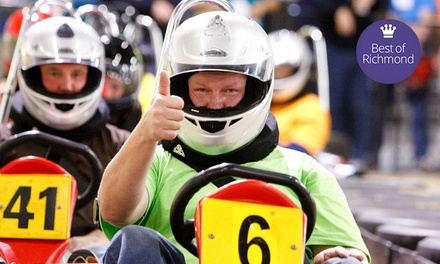 Two or Three Adult or Junior Go-Kart Races at G-Force Karts (Up to 59% Off)