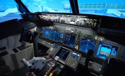 Up to 90-Minute Boeing 737 Flight Simulator Experience at Jet Sim School (Up to 58% Off)