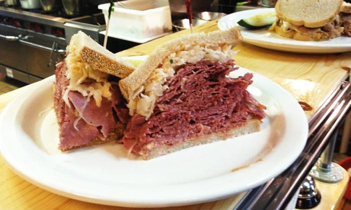 The Bronx Deli - Farmington Hills - Farmington: Deli Cuisine at The Bronx Deli (Up to 39% Off). Three Options Available.