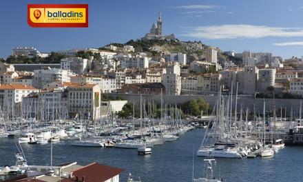 Marseille : 1 à 3, 5 ou 7 nuits avec petit déjeuner à l'Hôtel Balladins Marseille Saint-Charles pour 2 personnes