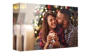 Photo Gift: 1 o 2 impresiones con imagen personalizable en bloque de metacrilato desde 6,99 € con Photo Gift