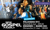 1 place pour New Gospel Family les 06 mai et 21 mai à 12 € à Palaiseau et Enghein-les-Bains