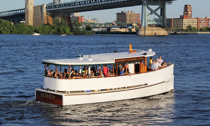 Patriot Harbor Lines - Penn's Landing Waterfront : Philly Harbor Cruise Tour for Two or Four from Patriot Harbor Lines (Up to 50% Off)