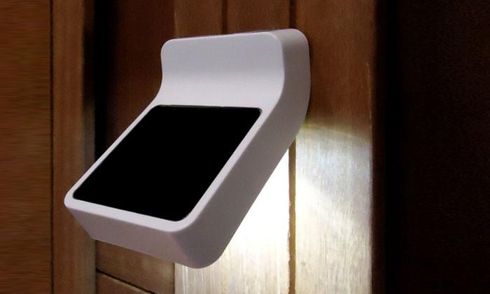 Lampade ad energia solare groupon goods - Lampade ad energia solare per giardino ...