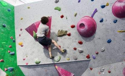 Rock Climbing Taster Session with Introduction and Equipment Hire for Up to Three at City Bloc (43% Off)