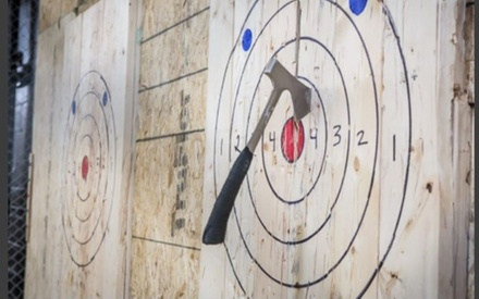 60-Minute Axe Throwing Session for Two, Three, Four, or Six at Axe-Cellent Axe Throwing (Up to 37% Off)