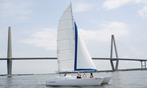 Charleston Sailing Adventures: 90-Minute Sunset Cruise or Private Charter Cruise from Charleston Sailing Adventures (Up to 46% Off)