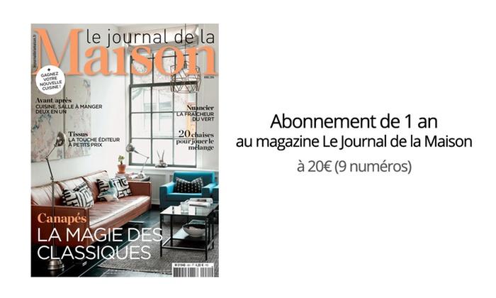Abonnement journal de la maison great abonnement au - Abonnement journal de la maison ...