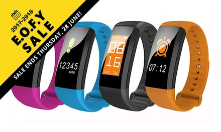 EOFYS: Colour Touch Screen Activity Tracker with Heart Rate and Blood Pressure: One ($34) or Two ($64)