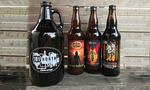 Flight for Two or Four with Souvenir Growlers at 101 North Brewing Co. (Up to 50% Off)