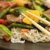 Buffet à volonté : wok, sushi…