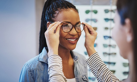 One Complete Pair of Single-Vision or Progressive, No-Line Glasses at Eyeglass Factory (Up to 62% Off)