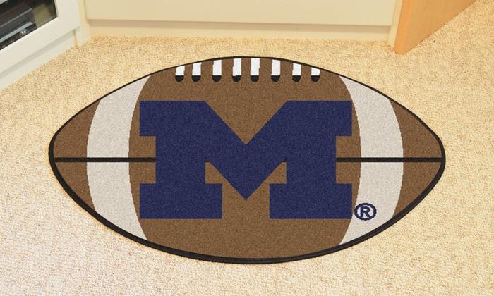 NCAA Football Area Rug
