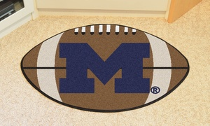NCAA Football Area Rug