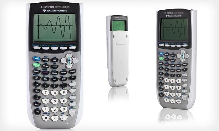 Texas Instruments TI-84 Plus Silver Edition: Texas Instruments TI-84 Plus Silver Edition (Refurbished). Free Shipping.