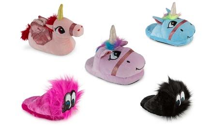 Olivia Miller Girl's Bed Slippers