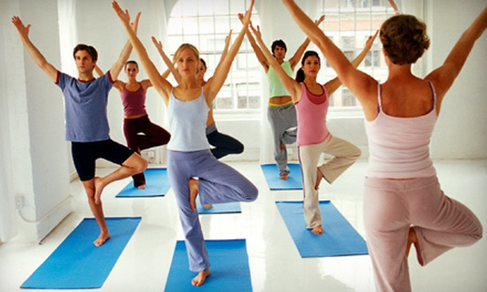 Desert Fitness - Gilbert: 5 or 10 Yoga or Mat Pilates Classes or Three Months of Unlimited Classes at Desert Fitness in Gilbert (Up to 71% Off)