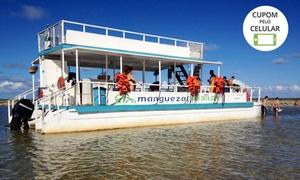 Manguezal Turismo: Passeio de barco para 1, 2, 3 ou 4 pessoas pela Praia dos Carneiros e mais com a Manguezal Turismo