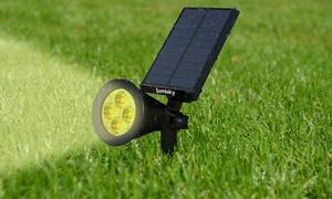 Spot LED solaire blanc chaud