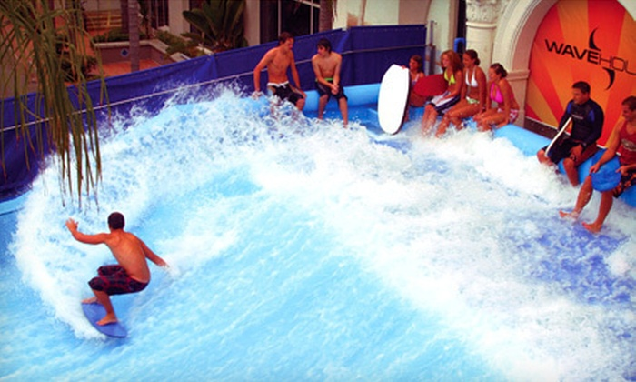 WaveHouse San Diego - Mission Beach: One- or Two-Hour Wave-Machine Surfing Adventure at WaveHouse San Diego (Up to 52% Off)