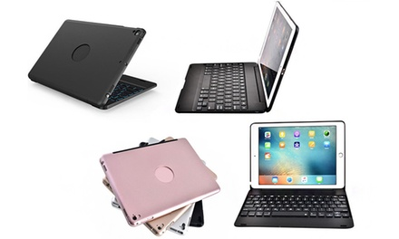 $44 for a Slim Wireless Bluetooth Keyboard with Clamshell Case Cover for iPad