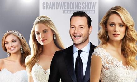 Tickets voor The Grand Wedding Show in Studio 21 te Hilversum op zondag 11 september