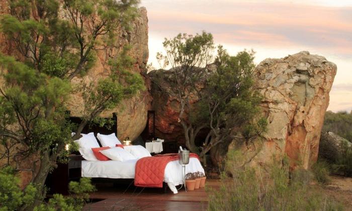 Afrique du Sud  4 ou 7 nuits en pension complète à lhôtel Kagga Kamma Nature Reserve 4* visite incluse pour 2 pers.
