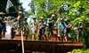 eXplore Brown County at Valley Branch Retreat - Explore Brown County/Paintball Valley: Zipline Canopy Tour at eXplore Brown County at Valley Branch Retreat (Up to 59% Off). Five Options Available.