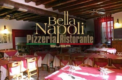 Menu con pizza a scelta, dolce e birra per 2 o 4 persone al ristorante Bella Napoli, Susa (sconto fino a
