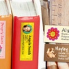 144 Personalised Book Labels