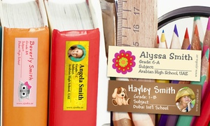 Ajooba Stationery & Gifts: Book, Waterproof, Iron-On or Allergy Labels from Ajooba Stationery & Gifts