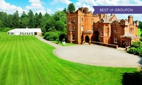 Dumfriesshire: 1 or 2 Nights For 2 With Breakfast, Dinner and Prosecco at Friars Carse Hotel