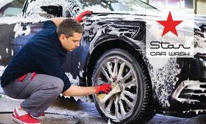 Star Car Wash  Toowoomba: Car Wash Package: Basic ($19) or Platinum ($39) at Star Car Wash Toowoomba (Up to $60 Value)