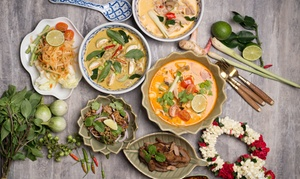 I Rich Thai: Three-Course Thai Meal and Drinks: Two ($35) or Four People ($70) at I Rich Thai (Up to $160 Value)