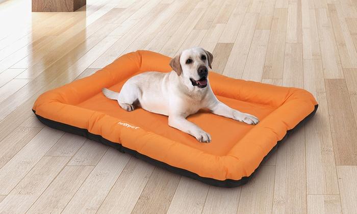 Large Flat Dog Beds Groupon Goods