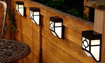 Solar Fence Lights Multipack